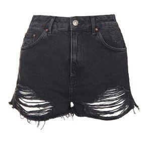 // Topshop Moto Shorts //